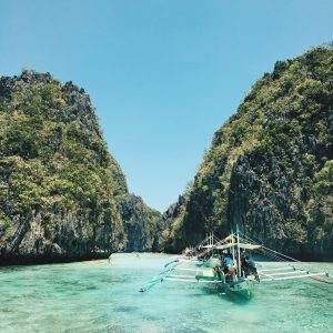 Lagoons in Palawan, Philippines