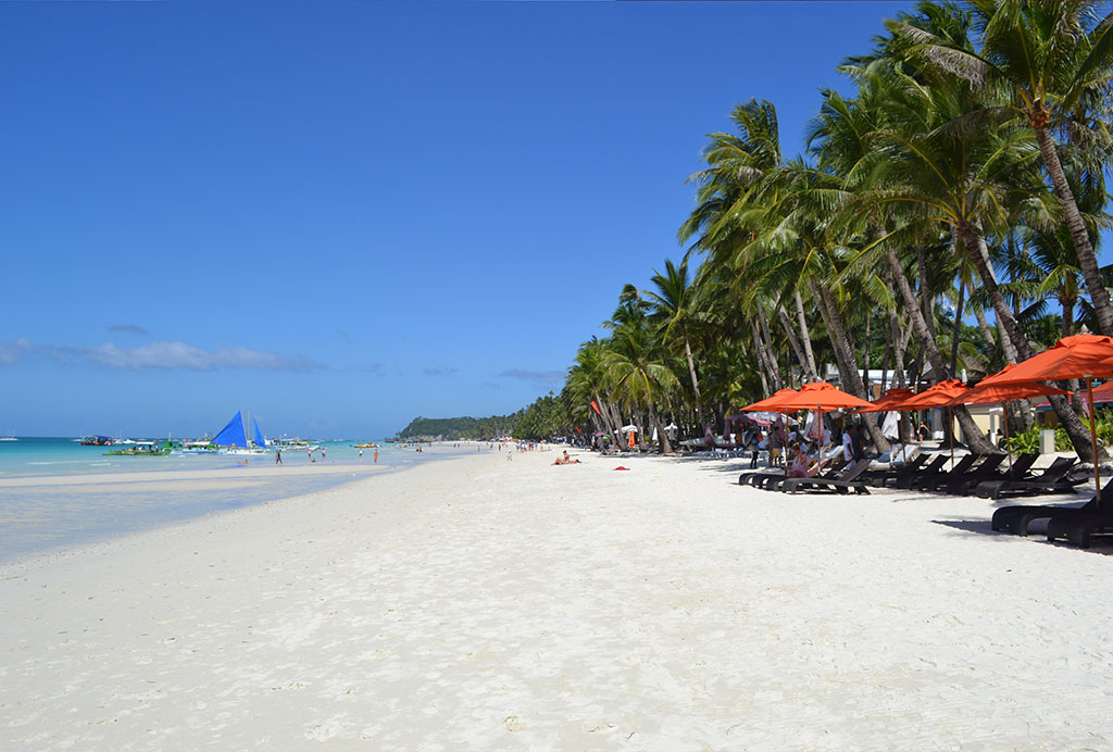 white sand beach, what to do in boracay